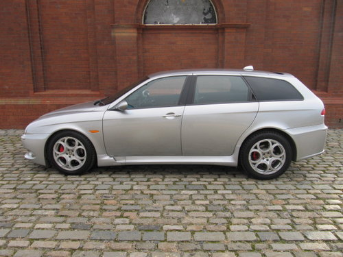 2003 ALFA ROMEO 156 RARE FUTURE CLASSIC GTA 3.2 V6 SPORTWAGON For Sale (picture 1 of 6)