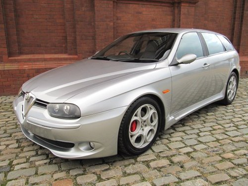 2003 ALFA ROMEO 156 RARE FUTURE CLASSIC GTA 3.2 V6 SPORTWAGON For Sale (picture 2 of 6)