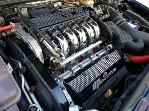 2005 05 Alfa Romeo GT 3.2 V6 24v Quaife Wizard Rebuilt Engine FSH SOLD (picture 5 of 6)
