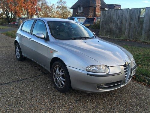 2001 Alfa Romeo 147 SOLD (picture 1 of 5)