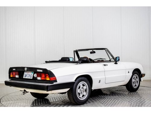 1985 Alfa Romeo Spider Graduate Injection For Sale (picture 2 of 6)