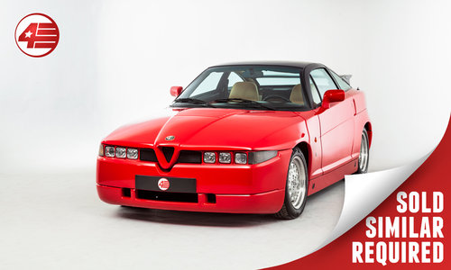 1992 Alfa Romeo SZ /// Rare UK-Supplied /// 56k Miles SOLD (picture 1 of 2)
