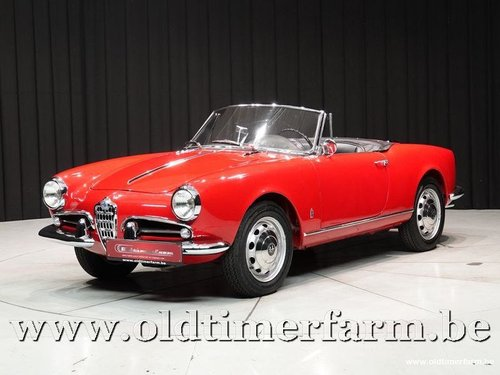 1962 Alfa Romeo 1300 Giulietta Spider '62 For Sale (picture 1 of 6)