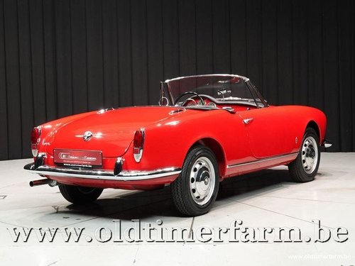 1962 Alfa Romeo 1300 Giulietta Spider '62 For Sale (picture 2 of 6)