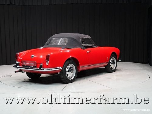 1962 Alfa Romeo 1300 Giulietta Spider '62 For Sale (picture 6 of 6)