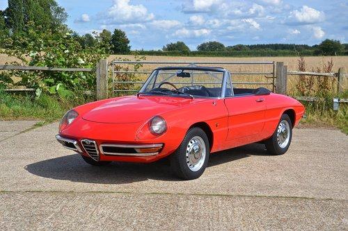 1969 Alfa Romeo 1750 Veloce Spider (RHD) For Sale (picture 1 of 6)