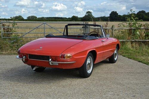 1969 Alfa Romeo 1750 Veloce Spider (RHD) For Sale (picture 3 of 6)