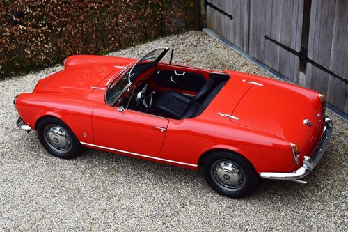 1964 Alfa Romeo Giulia 1600 Spider (LHD) For Sale (picture 3 of 6)