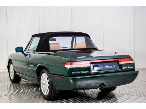 1991 Alfa Romeo Spider 2.0i  For Sale (picture 3 of 6)