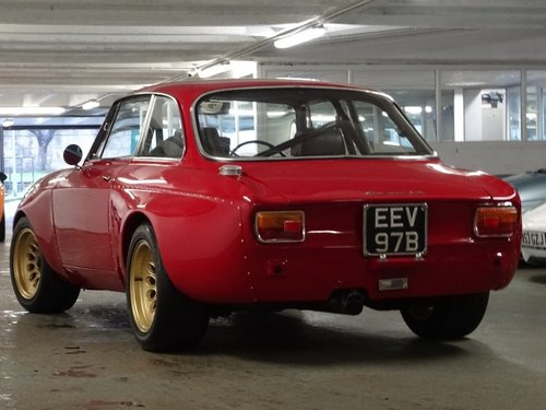 1964 Alfa Romeo Giulia 1.6 4dr GT SPRINT GTAM TRIBUTE For Sale (picture 4 of 6)