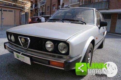 ALFA ROMEO ALFETTA 2.0 QUADRIFOGLIO DEL 1982 For Sale (picture 1 of 6)