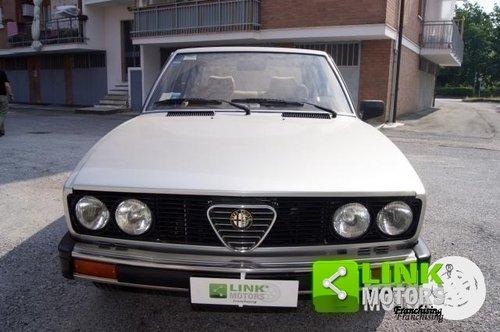 ALFA ROMEO ALFETTA 2.0 QUADRIFOGLIO DEL 1982 For Sale (picture 2 of 6)
