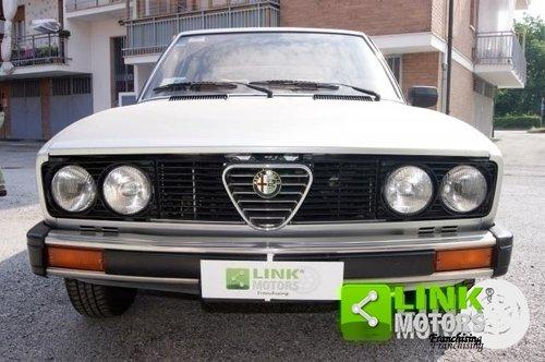 ALFA ROMEO ALFETTA 2.0 QUADRIFOGLIO DEL 1982 For Sale (picture 3 of 6)