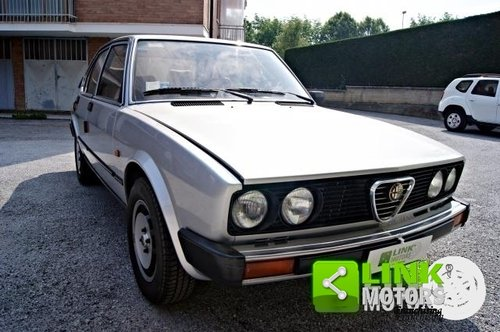 ALFA ROMEO ALFETTA 2.0 QUADRIFOGLIO DEL 1982 For Sale (picture 4 of 6)