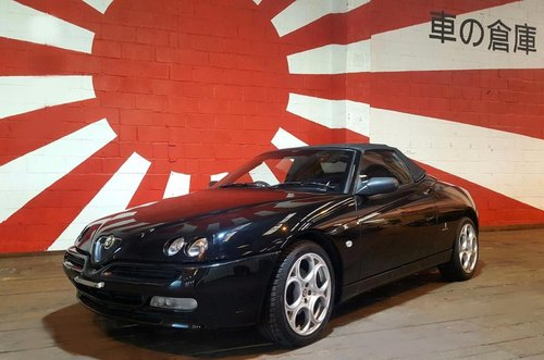 2001 ALFA ROMEO SPIDER 916 CONVERTIBLE LUSSO * ONLY 45000 MILES For Sale (picture 1 of 6)