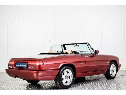 1990 Alfa Romeo Spider 2.0i For Sale (picture 2 of 6)