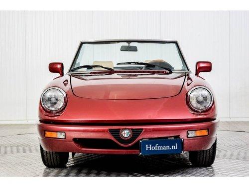 1990 Alfa Romeo Spider 2.0i For Sale (picture 3 of 6)