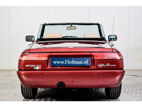 1990 Alfa Romeo Spider 2.0i For Sale (picture 4 of 6)