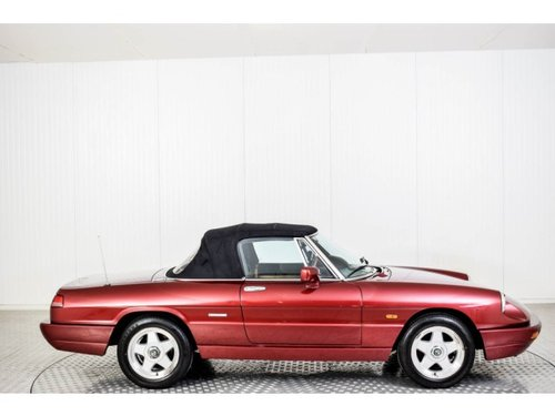 1990 Alfa Romeo Spider 2.0i For Sale (picture 6 of 6)