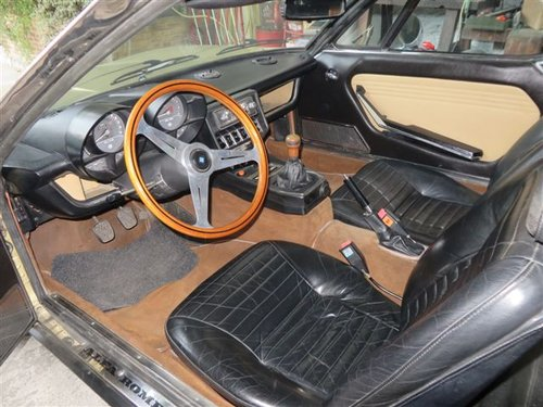 Alfa Romeo Montreal (1975) 8 cyl. 2.6 lovely original LHD For Sale (picture 4 of 6)