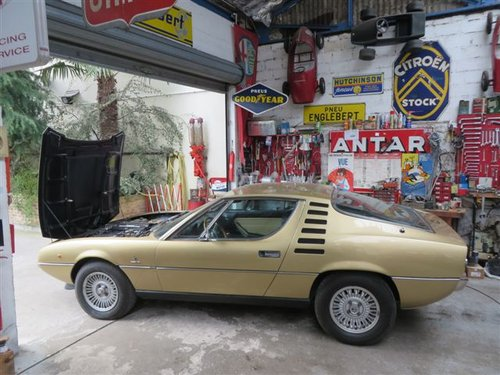 Alfa Romeo Montreal (1975) 8 cyl. 3L classic investment LHD For Sale (picture 1 of 6)