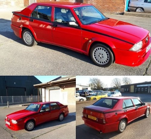 1991 Alfa Romeo 75 3.0 V6 Cloverleaf For Sale
