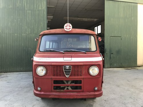 1969 Alfa Romeo F12 (Giulietta Giulia engine) bus For Sale (picture 1 of 6)