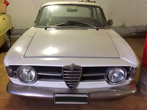 1967 ALFA ROMEO GT JUNIOR 1300 VERY FIRST SERIES For Sale (picture 2 of 6)