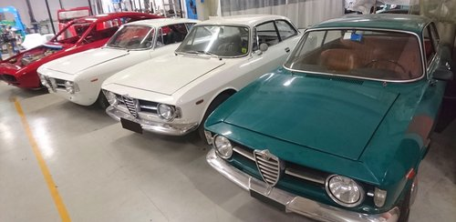 1967 ALFA ROMEO GT JUNIOR 1300 VERY FIRST SERIES For Sale (picture 6 of 6)