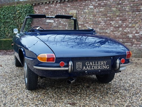 1966 Alfa Romeo Spider Duetto 1600 German car, highly original. For Sale (picture 6 of 6)