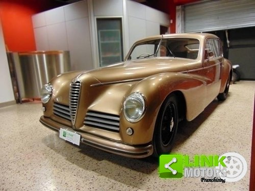 ALFA ROMEO 6C 2500 Freccia d'Oro, anno 1948, Targa Oro ASI, For Sale (picture 1 of 6)
