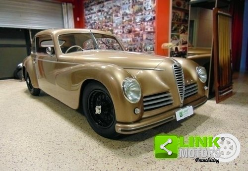 ALFA ROMEO 6C 2500 Freccia d'Oro, anno 1948, Targa Oro ASI, For Sale (picture 2 of 6)