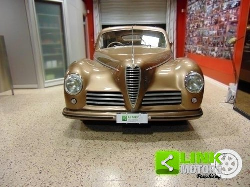 ALFA ROMEO 6C 2500 Freccia d'Oro, anno 1948, Targa Oro ASI, For Sale (picture 3 of 6)