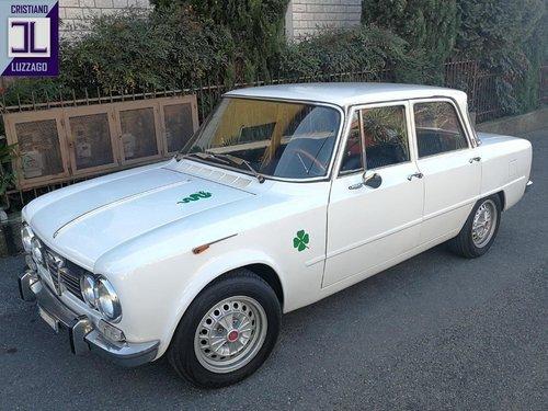 1971 FAST ROAD ALFA ROMEO GIULIA 1600 For Sale (picture 2 of 6)