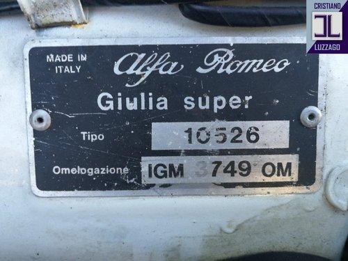1971 FAST ROAD ALFA ROMEO GIULIA 1600 For Sale (picture 6 of 6)