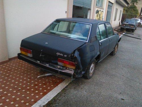 1983 Alfa Romeo Alfetta 2.0 L For Sale (picture 1 of 6)