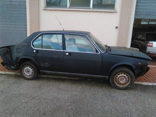 1983 Alfa Romeo Alfetta 2.0 L For Sale (picture 3 of 6)