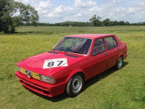 1980 ALFA ROMEO GIULIETTA HISTORIC RACE CAR For Sale (picture 5 of 6)