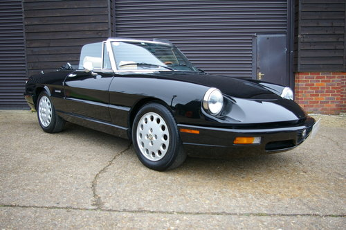 1991 Alfa Romeo Spider 2.0 Twin Cam Manual SERIES 4 (19590 miles) SOLD (picture 1 of 6)