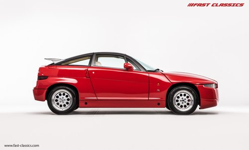 1991 ALFA ROMEO S.Z. // ZAGATO SPECIAL // UK SUPPLIED For Sale (picture 1 of 6)