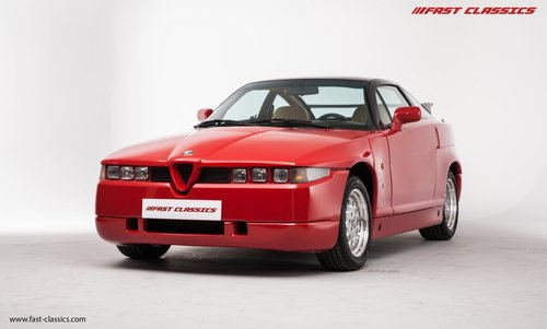 1991 ALFA ROMEO S.Z. // ZAGATO SPECIAL // UK SUPPLIED For Sale (picture 2 of 6)