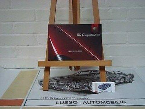 Alfa Romeo 8C Competizione owners manual For Sale (picture 1 of 1)