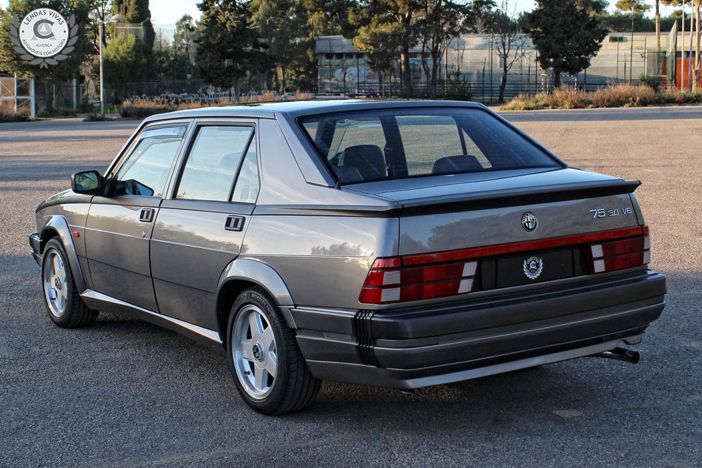 1989 Alfa Romeo 75 3.0 v6 America  SOLD (picture 2 of 6)