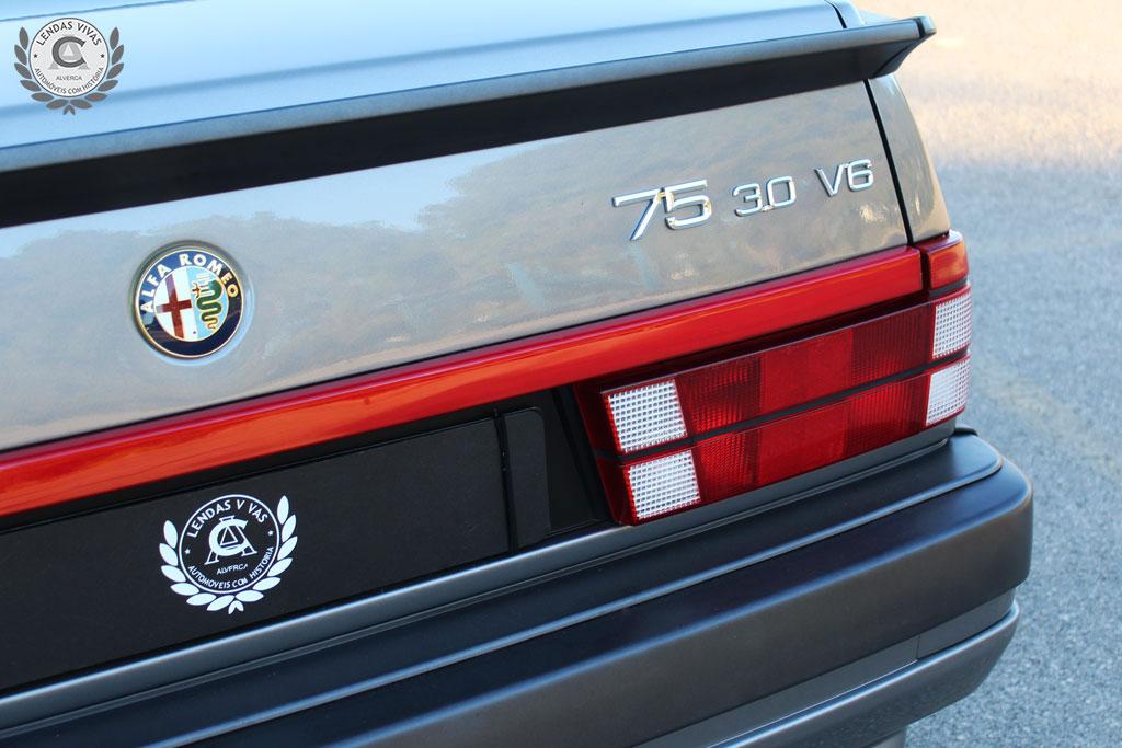 1989 Alfa Romeo 75 3.0 v6 America  SOLD (picture 3 of 6)