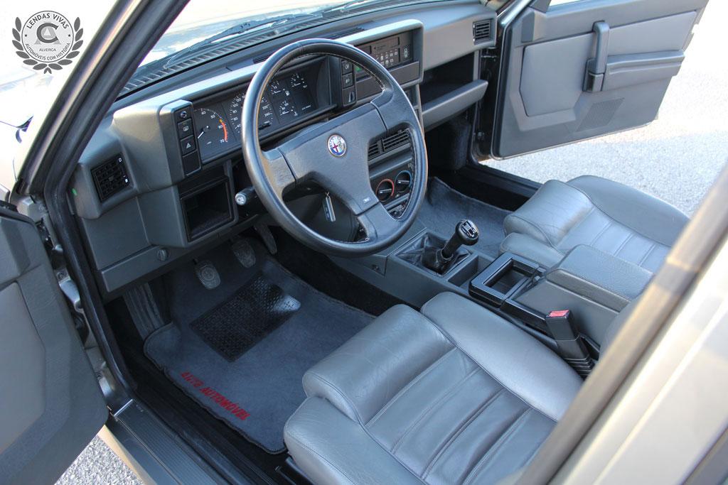 1989 Alfa Romeo 75 3.0 v6 America  SOLD (picture 4 of 6)