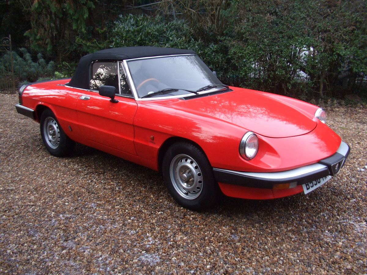 1985 ALFA SPIDER S3  2.0L ORIGINAL RHD  GREAT CAR For Sale (picture 2 of 6)