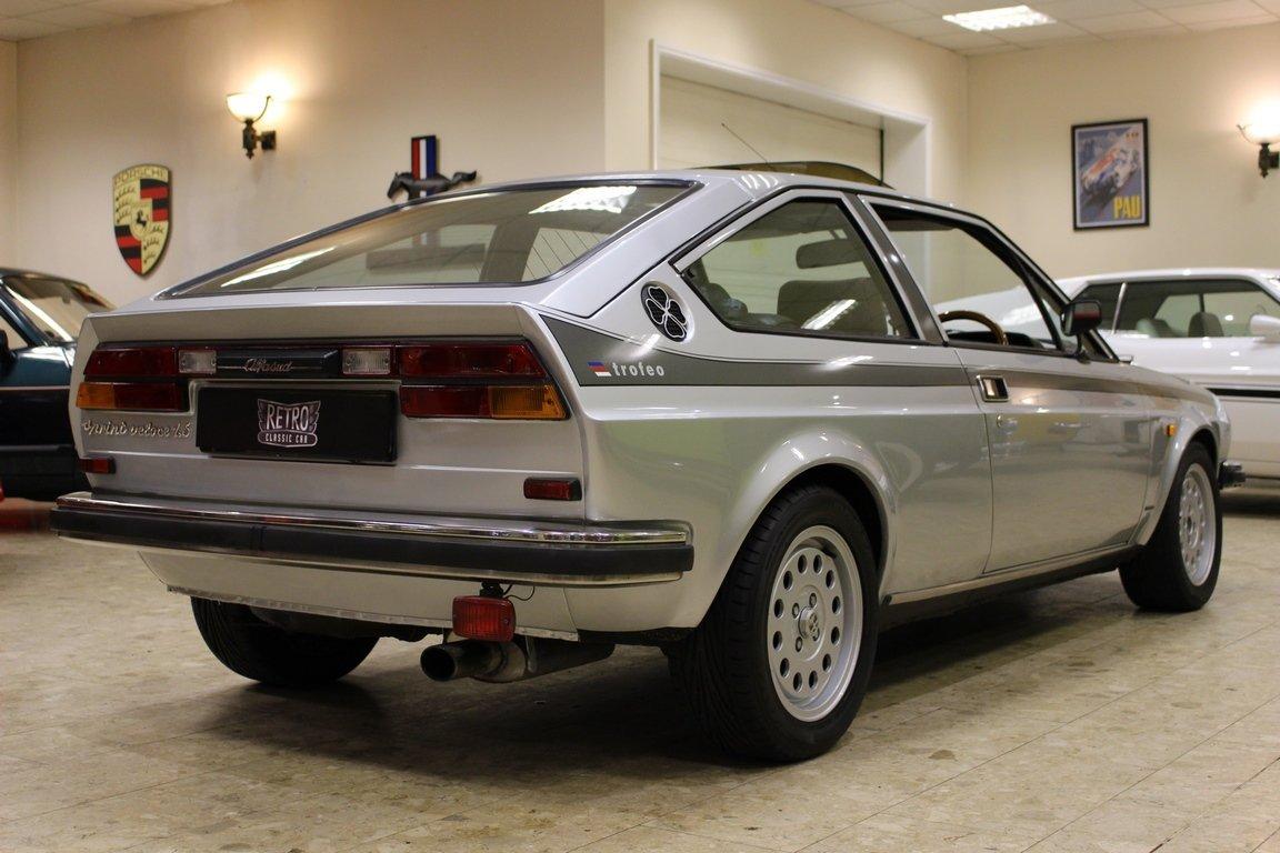 1982 Alfa Romeo Alfasud Sprint Veloce 1.5 Trofeo Edition SOLD (picture 3 of 6)