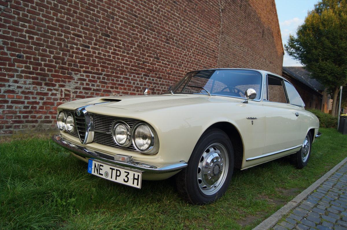 1963 Alfa Romeo 2600 Sprint 1. Serie For Sale (picture 1 of 6)