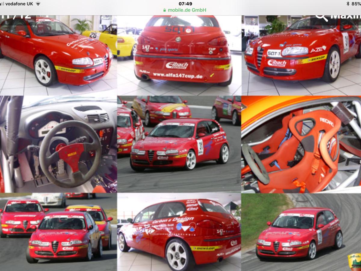 2006 Alfa 147 1.9 JTD 16Valve ex Alfa Cup Car SOLD (picture 3 of 6)