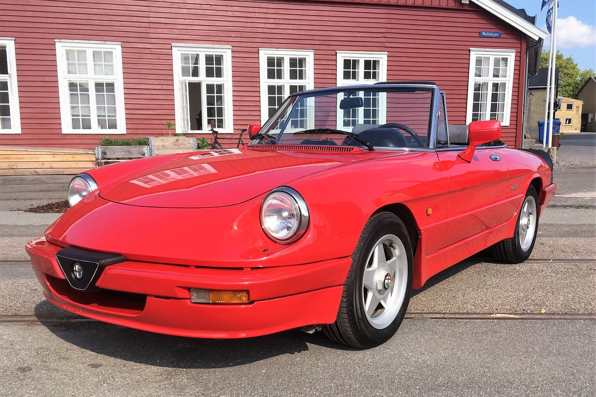 1986 Alfa Spider 2000 QV LHD For Sale (picture 2 of 6)
